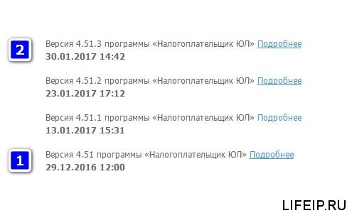 налогоплательщик юл 2017