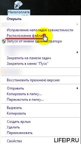Расположение программы налогоплательщик ЮЛ